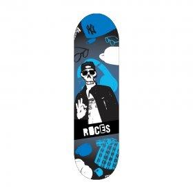 """Mini Skateboard Roces 31"""" Skull 80"""