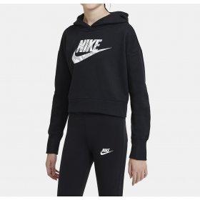 Felpa con cappuccio junior Nike Crop