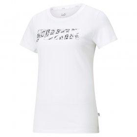 T-shirt manica corta donna Puma Rebel Graphic