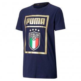T-shirt manica corta junior Italia Puma FIGC