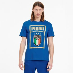 T-shirt manica corta uomo Italia Puma FIGC