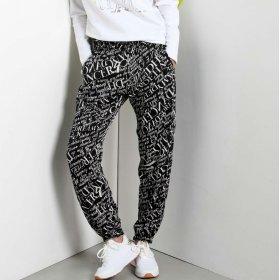 Pantalone donna Deha Boxe logo in raso