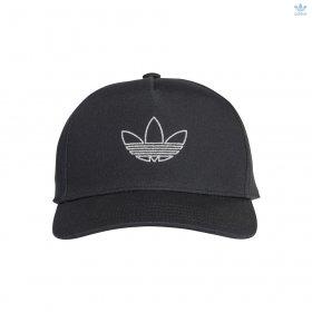 Cappello con visiera junior adidas Trefoil
