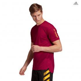 T-shirt manica corta adidas running/trail