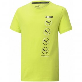 T-shirt manica corta junior Puma Active Sport Graphic