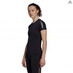 T-shirt manica corta donna adidas running/trail