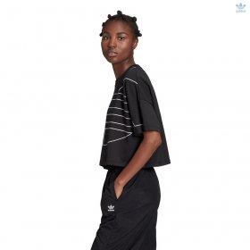 T-shirt manica corta adidas Originals Trefoil oversize