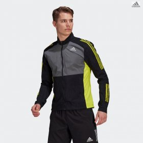 Giacca da runner uomo adidas