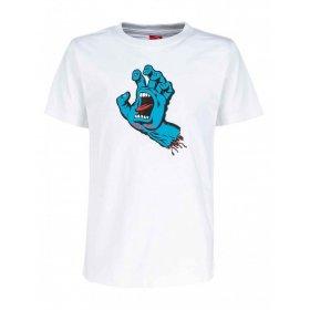 T-shirt manica corta uomo Santa Cruz Screaming Hand