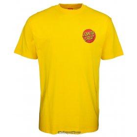 T-shirt manica corta uomo Santa Cruz Classic dot Chest