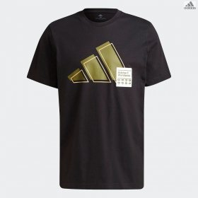 T-shirt manica corta uomo adidas 3BAR logo