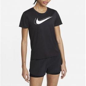 T-shirt manica corta donna Nike Swoosh Run