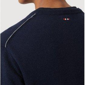 Camicia manica lunga in lino Napapijri Gervas uomo