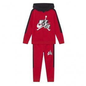 Tuta con cappuccio Jordan Infant Jumpman